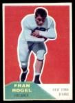 1960 Fleer #43  Fran Rogel  Front Thumbnail