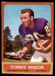 1963 Topps #99  Tommy Mason  Front Thumbnail