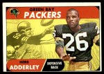1968 Topps #131  Herb Adderley  Front Thumbnail