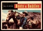 1958 Topps TV Westerns #65   Call to Action  Front Thumbnail