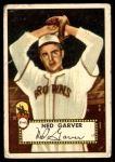 1952 Topps #212  Ned Garver  Front Thumbnail