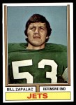 1974 Topps #415  Bill Zapalac  Front Thumbnail