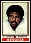 1974 Topps #315  Isaac Curtis  Front Thumbnail