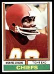 1974 Topps #323  Morris Stroud  Front Thumbnail