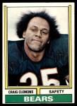 1974 Topps #283  Craig Clemons  Front Thumbnail