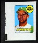1969 Topps Decals  Reggie Jackson  Front Thumbnail