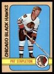 1972 Topps #70  Pat Stapleton  Front Thumbnail