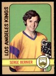 1972 O-Pee-Chee #152  Serge Bernier  Front Thumbnail