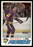 1977 O-Pee-Chee #353  Dave Schultz  Front Thumbnail