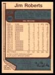 1977 O-Pee-Chee #281  Jim Roberts  Back Thumbnail