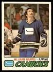 1977 O-Pee-Chee #286  Hilliard Graves  Front Thumbnail