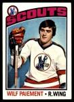 1976 Topps #37  Wilf Paiement  Front Thumbnail