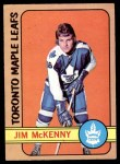 1972 O-Pee-Chee #83  Jim McKenny  Front Thumbnail