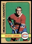 1972 O-Pee-Chee #77  Jacques Lemaire  Front Thumbnail