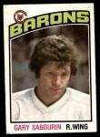 1976 O-Pee-Chee NHL #266  Gary Sabourin  Front Thumbnail