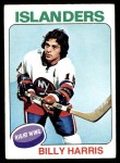 1975 Topps #242  Billy Harris   Front Thumbnail