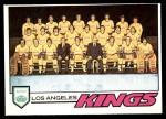 1977 O-Pee-Chee #78   Kings Team Front Thumbnail