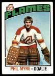 1976 Topps #17  Phil Myre  Front Thumbnail
