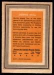 1972 O-Pee-Chee Team Canada #15  Dennis Hull  Back Thumbnail