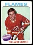 1975 Topps #62  Hilliard Graves   Front Thumbnail