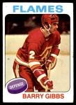 1975 Topps #214  Barry Gibbs   Front Thumbnail