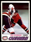 1977 O-Pee-Chee #189  Doug Risebrough  Front Thumbnail