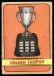 1972 O-Pee-Chee #134   Calder Trophy Winners Front Thumbnail