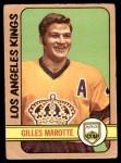 1972 O-Pee-Chee #27  Gilles Marotte  Front Thumbnail