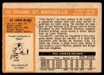 1972 O-Pee-Chee #65  Frank St.Marseille  Back Thumbnail