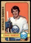1972 O-Pee-Chee #262  Craig Ramsay  Front Thumbnail