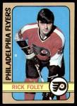 1972 Topps #98  Rick Foley  Front Thumbnail