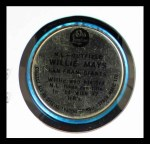 1965 Old London Coins  Willie Mays  Back Thumbnail