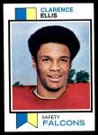 1973 Topps #9  Clarence Ellis  Front Thumbnail