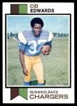 1973 Topps #13  Cid Edwards  Front Thumbnail