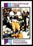 1973 Topps #29  MacArthur Lane  Front Thumbnail