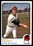 1973 Topps #465  Dave Giusti  Front Thumbnail