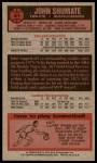 1976 Topps #61  John Shumate  Back Thumbnail