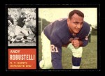 1962 Topps #108  Andy Robustelli  Front Thumbnail