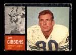 1962 Topps #54  Jim Gibbons  Front Thumbnail