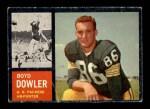1962 Topps #71  Boyd Dowler  Front Thumbnail