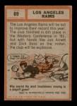 1962 Topps #89   Rams Team Back Thumbnail