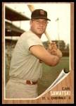 1962 Topps #106  Carl Sawatski  Front Thumbnail