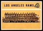1960 Topps #71   Rams Team Checklist Front Thumbnail
