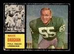 1962 Topps #124  Maxie Baughan  Front Thumbnail