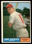 1961 Topps #179  Joe Koppe  Front Thumbnail