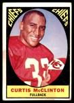 1967 Topps #64  Curtis McClinton  Front Thumbnail
