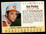 1963 Post #134  Bob Purkey  Front Thumbnail