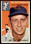 1954 Topps #46 WHT Ken Raffensberger  Front Thumbnail