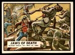 1962 Topps Civil War News #64   Jaws of Death Front Thumbnail
