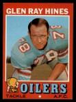 1971 Topps #219  Glen Ray Hines  Front Thumbnail